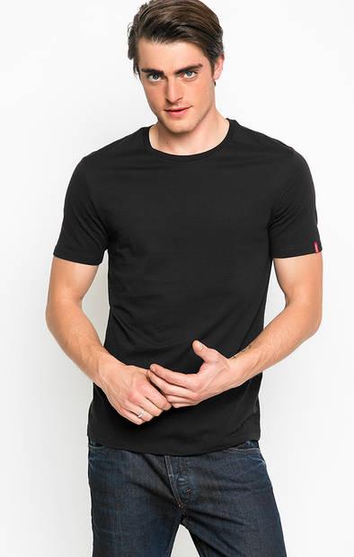 Комплект из двух черных футболок